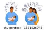 set of isolated vector... | Shutterstock .eps vector #1831626043