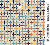 abstract geometric vector... | Shutterstock .eps vector #1831653826