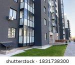 new residential building.... | Shutterstock . vector #1831738300