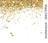 festive glittering gold... | Shutterstock .eps vector #183173906