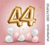 elegant greeting celebration... | Shutterstock .eps vector #1831755910