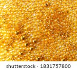 Background With Tiny Golden...