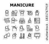 manicure and pedicure... | Shutterstock .eps vector #1831767919