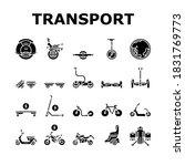 personal transport collection... | Shutterstock .eps vector #1831769773