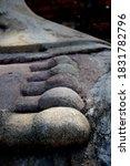 Foot Of Buddha At Wat Yai...