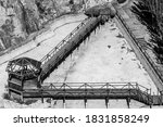 Abandoned Wooden Structure Wit...