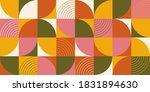 geometric pattern vector... | Shutterstock .eps vector #1831894630