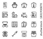 kitchen electronics icons set... | Shutterstock .eps vector #1831930870