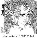 illustration of capricorn... | Shutterstock .eps vector #1831979449
