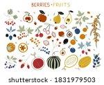 autumn harvest with garden... | Shutterstock .eps vector #1831979503