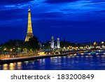 paris france   september 30... | Shutterstock . vector #183200849