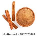 Cinnamon Sticks And Cinnamon...