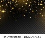 celebration background. glowing ... | Shutterstock .eps vector #1832097163
