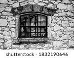 Vintage Window Of An Old Barn...