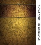 Grunge Gold Background With Re...