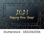 2021 happy new year vector... | Shutterstock .eps vector #1832362036
