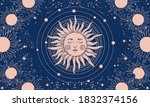 vector illustration in vintage... | Shutterstock .eps vector #1832374156
