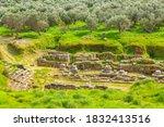 Sparta  Greece Ancient Ruins...
