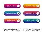 modern buttons for web site.... | Shutterstock .eps vector #1832493406