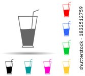 fresh drink multi color style...