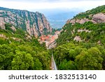 The Mountain Montserrat With...