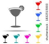 tropical cocktail multi color...