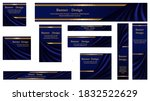 set of web banner backgrounds ... | Shutterstock .eps vector #1832522629