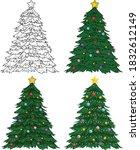 Realistic Colorful Christmas...