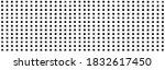 panorama of white steel mesh... | Shutterstock . vector #1832617450