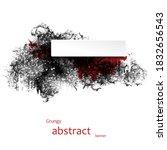 grungy abstract banner....   Shutterstock .eps vector #1832656543