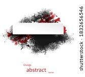 grungy abstract banner....   Shutterstock .eps vector #1832656546
