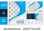 bifold brochure creative...   Shutterstock .eps vector #1832711230