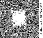 music hand drawn vector doodles ...   Shutterstock .eps vector #1832760469