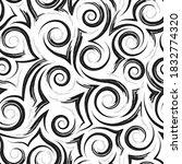 geometric seamless pattern of... | Shutterstock .eps vector #1832774320