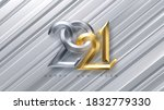 happy new 2021 year. holiday... | Shutterstock .eps vector #1832779330