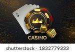 Casino Sing. Vector 3d...