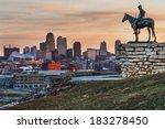 kansas city  missouri  usa on... | Shutterstock . vector #183278450