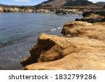 Rocky Coast With Clear Ocean...