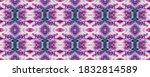 Purple Tile. Aquamarine...