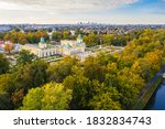 Autumn In Wilanow Palace Garden ...