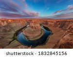 Horseshoe Bend Of The Colorado...