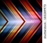 metal pattern vector background ... | Shutterstock .eps vector #183289973