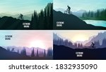 travel concept of discovering ... | Shutterstock .eps vector #1832935090