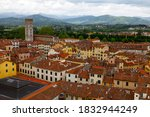 View At Rooftops Of Lucca ...