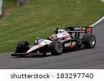 Birmingham Alabama USA - April 10, 2011: #12 Will Power, Australia Team Penske,  Grand Prix of Alabama. - stock photo