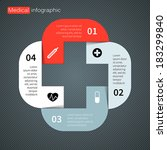 modern vector info graphic for... | Shutterstock .eps vector #183299840