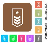 military insignia with three... | Shutterstock .eps vector #1833089566
