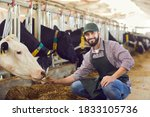 Portrait Of A Male Farmer Who...
