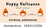 design of halloween celebration ... | Shutterstock .eps vector #1833113506