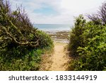 Sand Pathway Access French Sea...